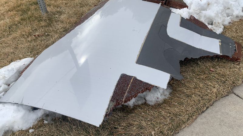 A commercial airliner dropped debris in Colorado neighborhoods during an emergency landing...