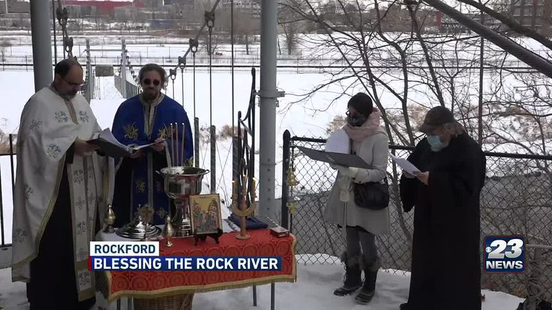blessing the Rock River