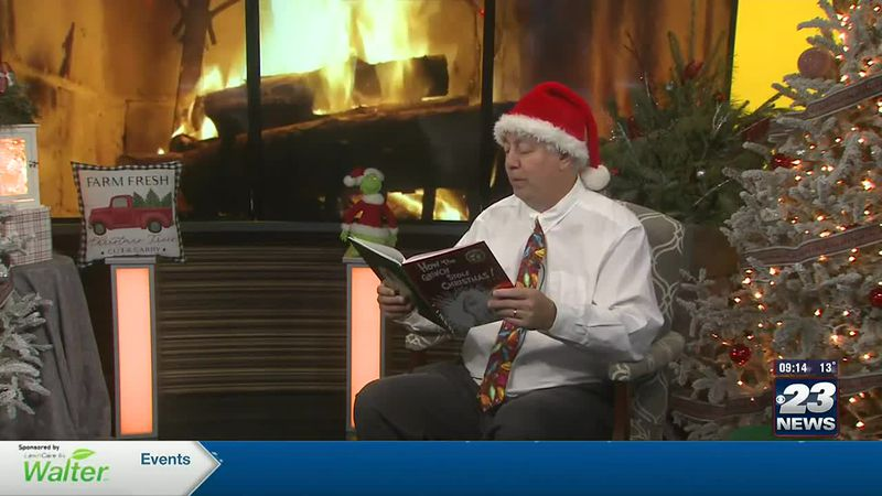 "Andy Gannon reads ""How the Grinch Stole Christmas'"