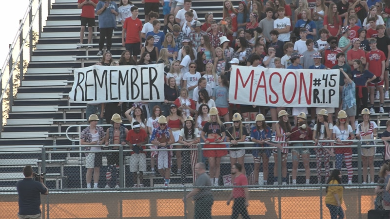 The community mourns the death of 16-year-old Mason Hada