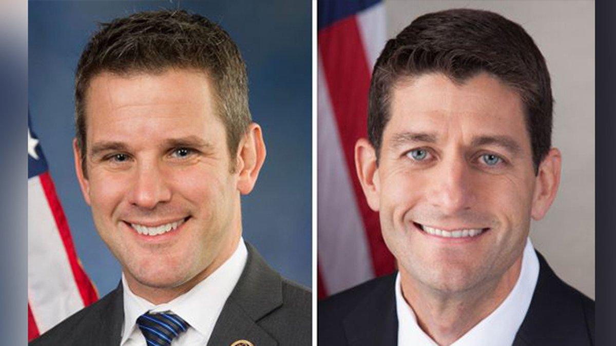 Adam Kinzinger and Paul Ryan