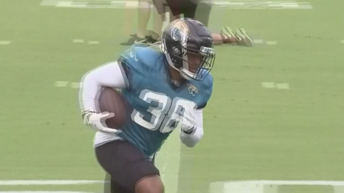 Rockford native James Robinson made the Jacksonville Jaguars initial 53-man roster on Saturday. The Lutheran grad signed with the team as an undrafted free agent.