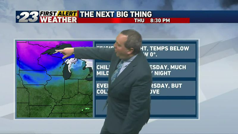 Season's coldest air due in by the end of the week