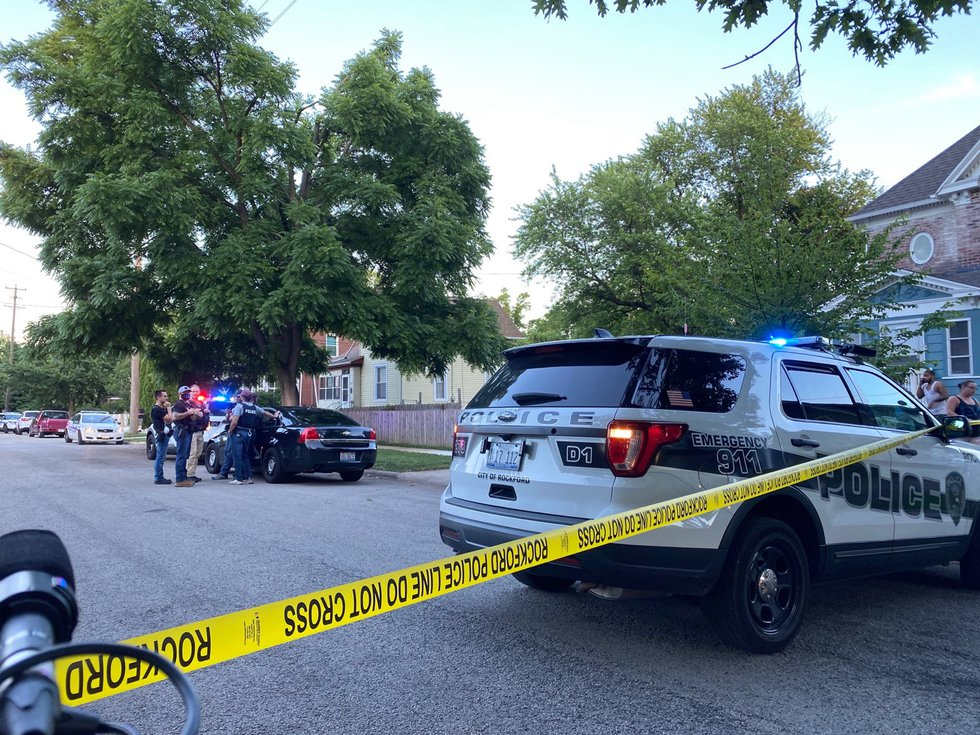 Rockford Police are responding to a fatal shooting in the 1400 block of Blaisdell that sent one...