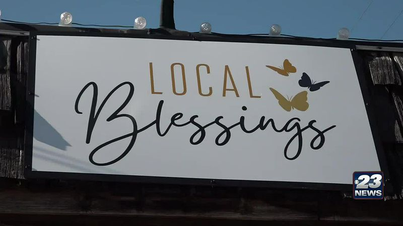 Local Blessings gift shop opens up in Rockton.