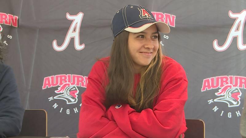 Rockford Auburn's Belen Nevenhoven will play collegiate tennis for the University of Arizona....
