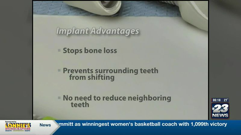 Tooth Talk with Dr. T:  Dental Implants