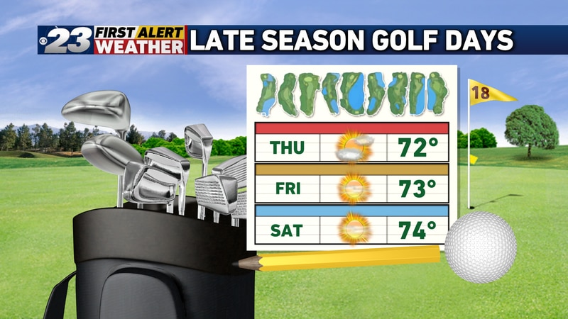 Need something to get you outside? Go play some golf!