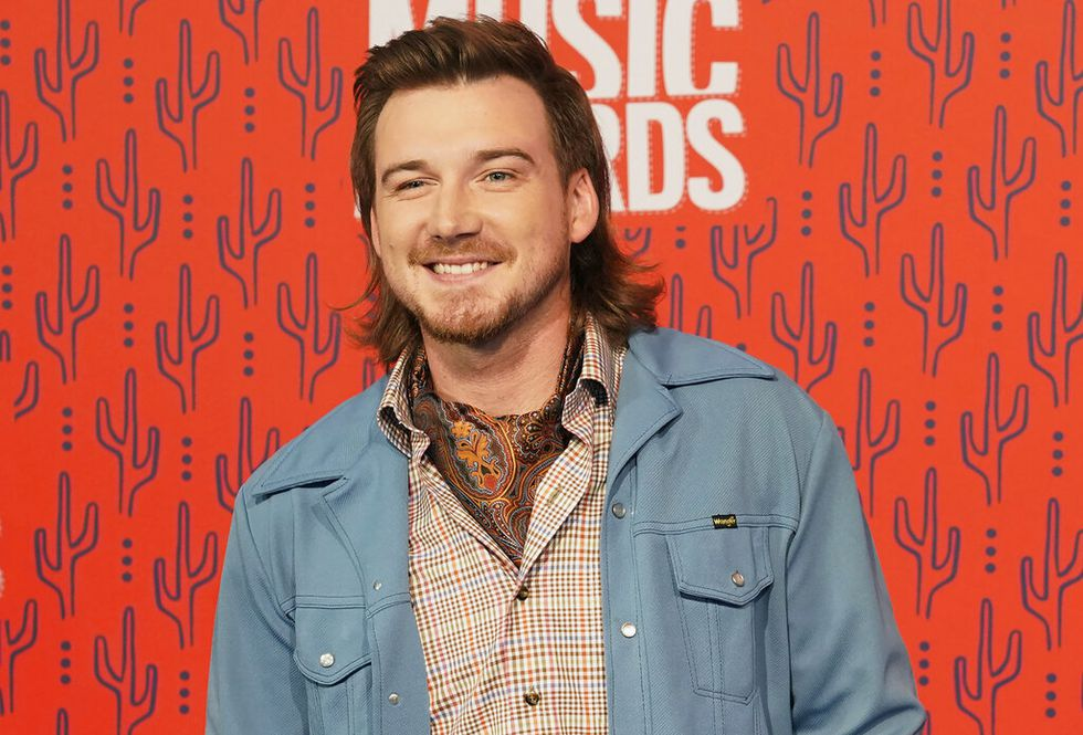 "In this June 5, 2019, file photo, Morgan Wallen arrives at the CMT Music Awards in Nashville, Tenn. Wallen has been dropped from performing on ""Saturday Night Live"" after breaking the show's COVID-19 protocols."