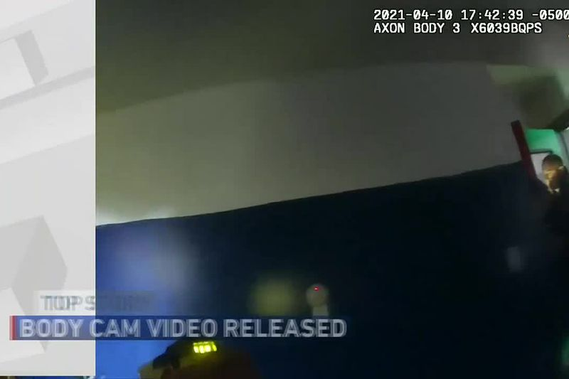Officer involved shooting body cam footage released