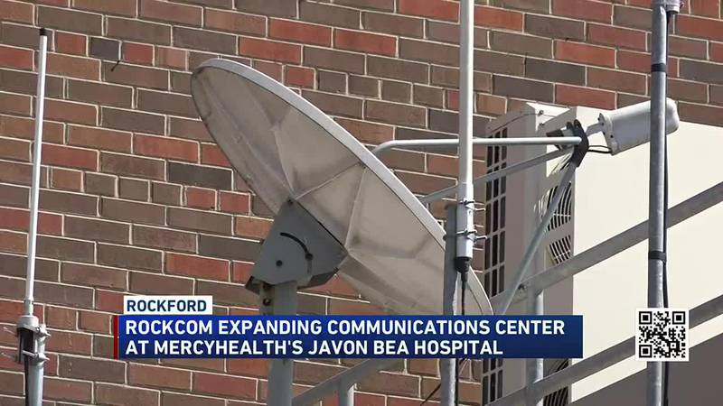 Rockcom dispatch center at Mercyhealth will get a much-needed upgrade