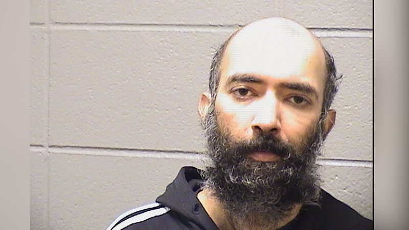 Aditya Singh, 36, is charged with felony criminal trespass to a restricted area of an airport...