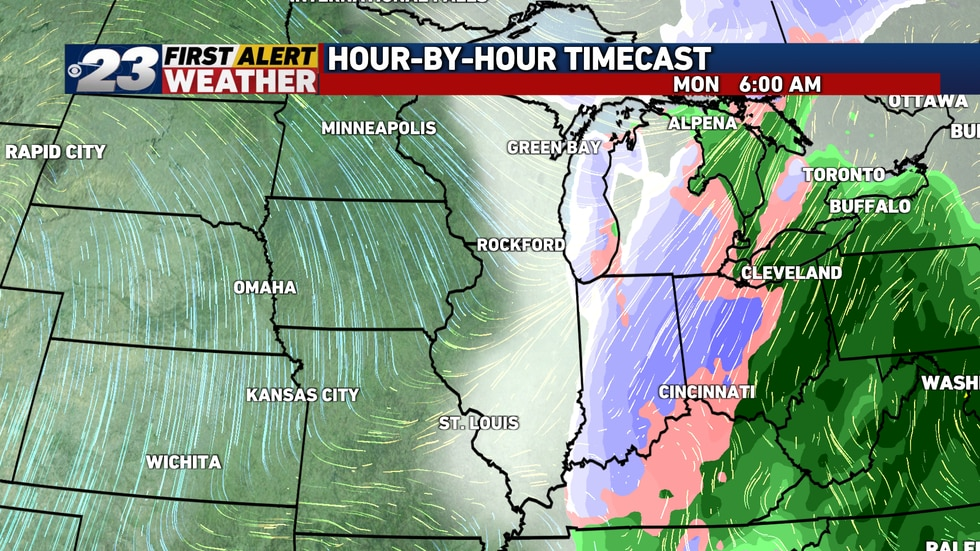 Heaviest snow appears to remain just to our east, though we will need to keep a close eye on...