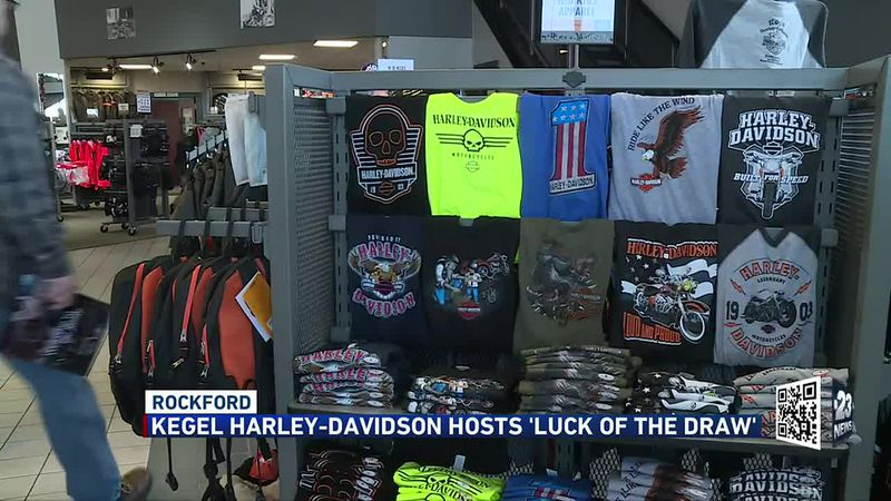 Kegel Harley Davidson hosts Luck of the Draw