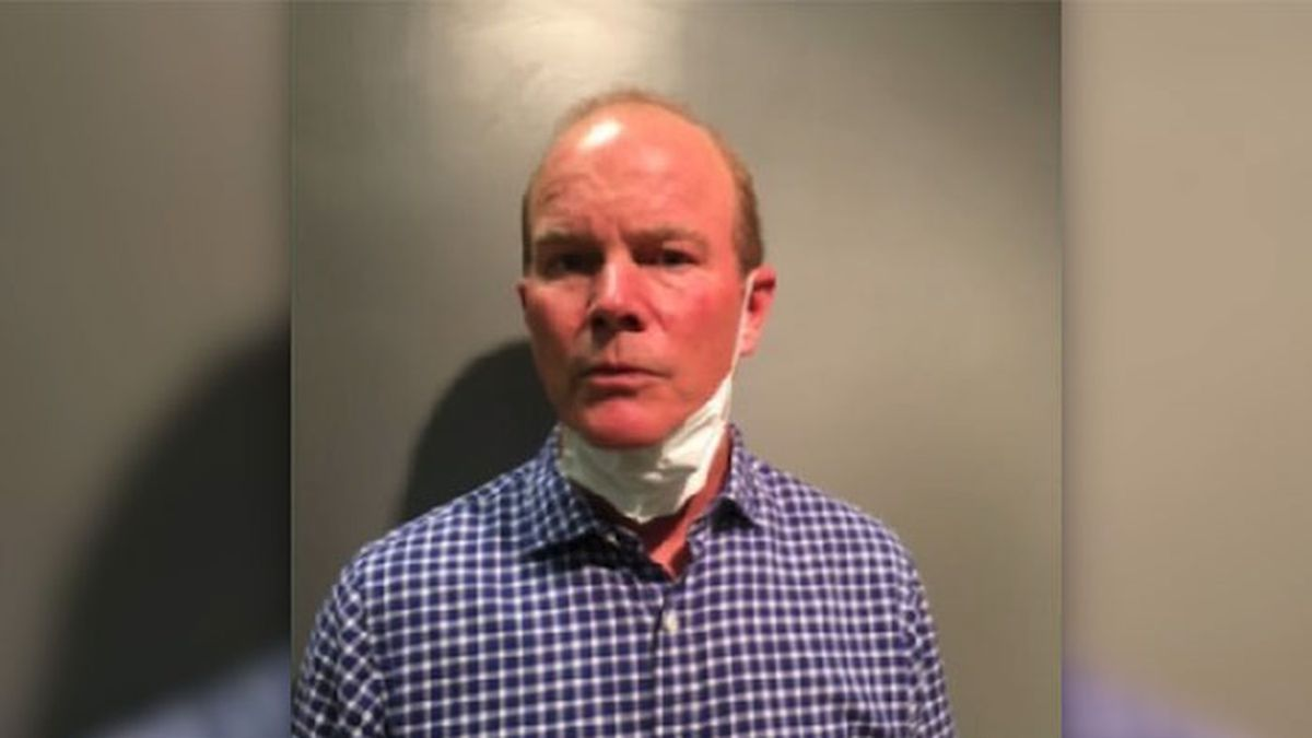 Police arrested and charged 60-year-old Anthony Brennan for allegedly confronting and attacked BLM supporters in Maryland. (Source: Maryland-National Capital Park Police/CNN)