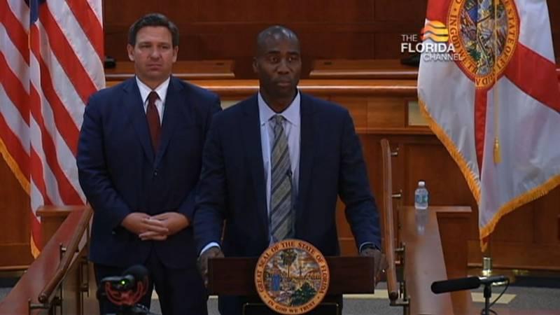 Florida Gov. Ron DeSantis announced Tuesday that Dr. Joseph Ladapo will be state's new surgeon...