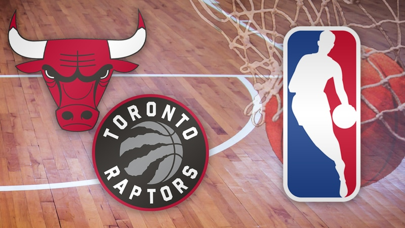 The NBA announced Sunday night's game between the Chicago Bulls and Toronto Raptors is...