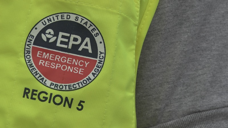 The U.S. Environmental Protection Agency says the biggest concern is to monitor what's actually...