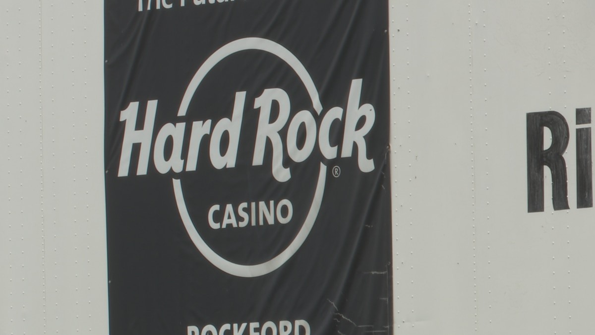 The Hard Rock Casino in Rockford will open in October of this year.
