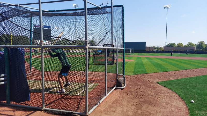 The Beloit Snappers held batting practice Monday morning at ABC Supply Stadium. The Snappers...