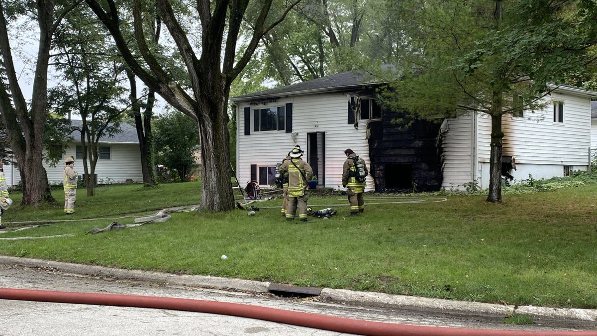 Three area fire crews contain structure fire on Apache Dr., cause under investigation