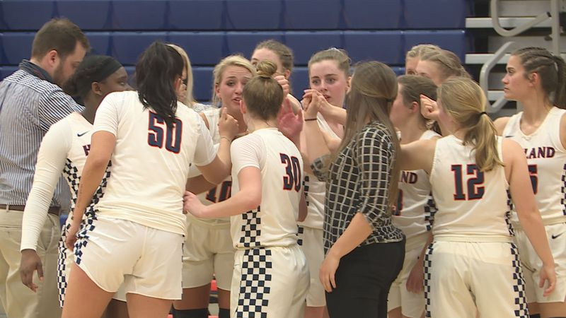 A year after not fielding a women's basketball team, Highland found itself back in the Region...