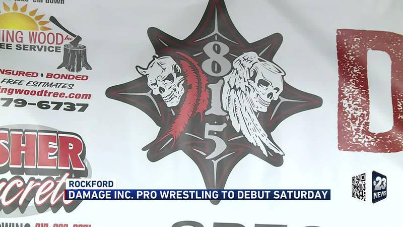 Damage Inc. pro wrestling to debut Saturday