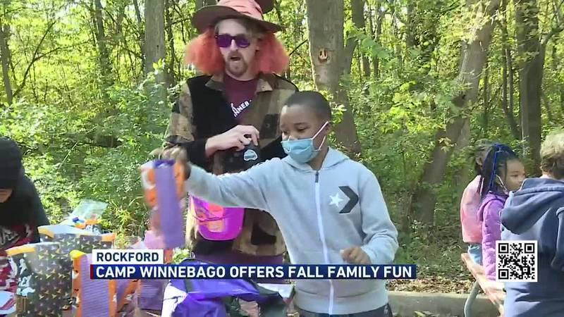 Hundreds of people enjoyed fun Halloween activities.