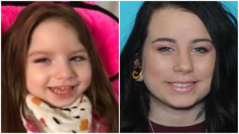 Police are searching for 3-year-old Adeline Paige Welch.