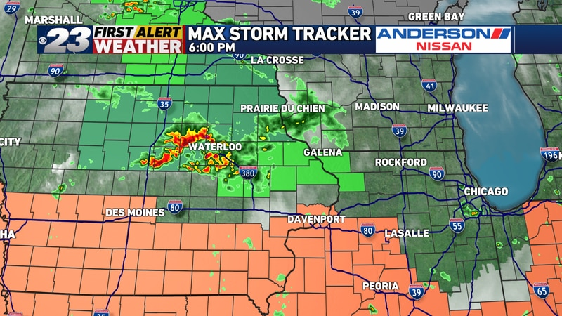 Showers and storms have brewed quickly over Iowa. Hence, Flash Flood Watches have been posted...