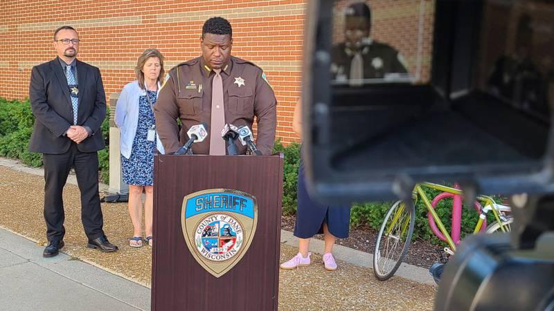 Dane Co. Sheriff Kalvin Barrett announces, on August 16, 2021, the Sheriff's Office will stop...