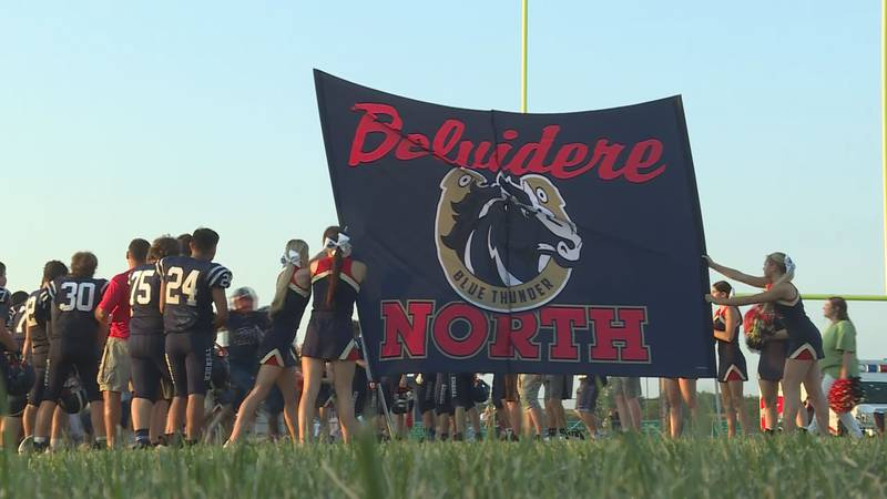 Belvidere North is off to a 5-0 start. The Blue Thunder now face undefeated Hononegah in our...