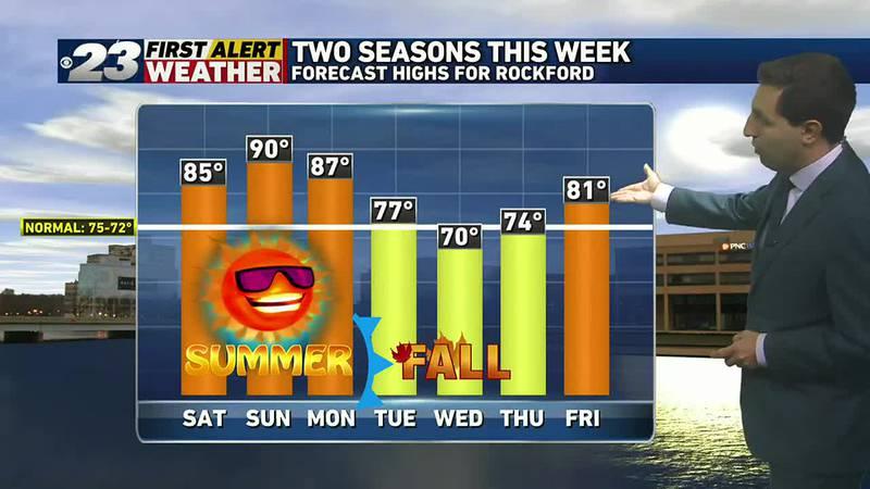 Two seasons in a week
