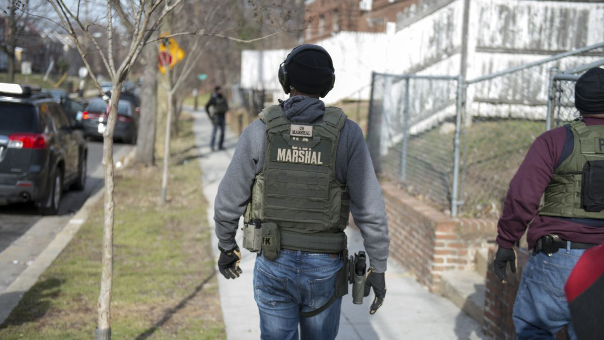 (Photo by Shane T. McCoy / US Marshals)