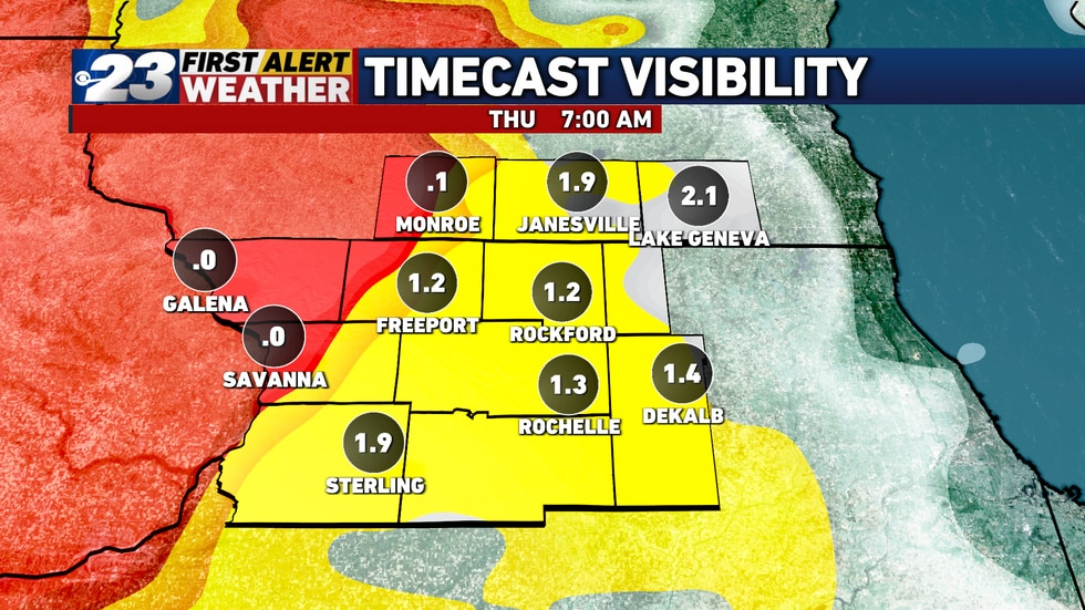 While there could be some impact on the morning commute, visibility should be improved.