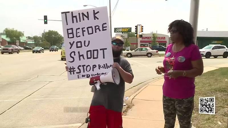 Gun Violence Rally Rockford