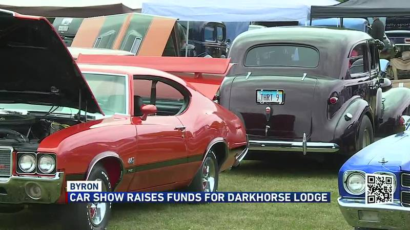 Car show raises funds for Darkhorse Lodge