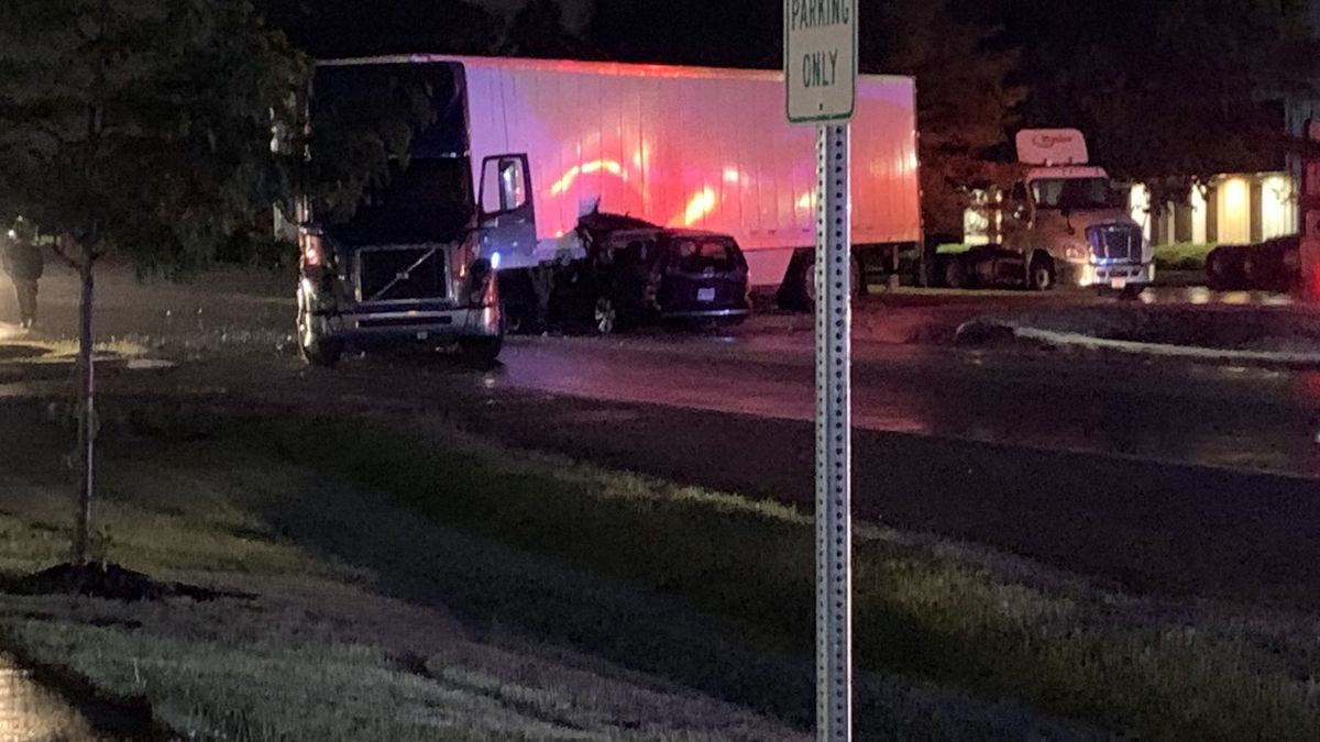 Sheriff's Deputies are on the scene of a serious semi vs. car accident in the 9900 Block of N....