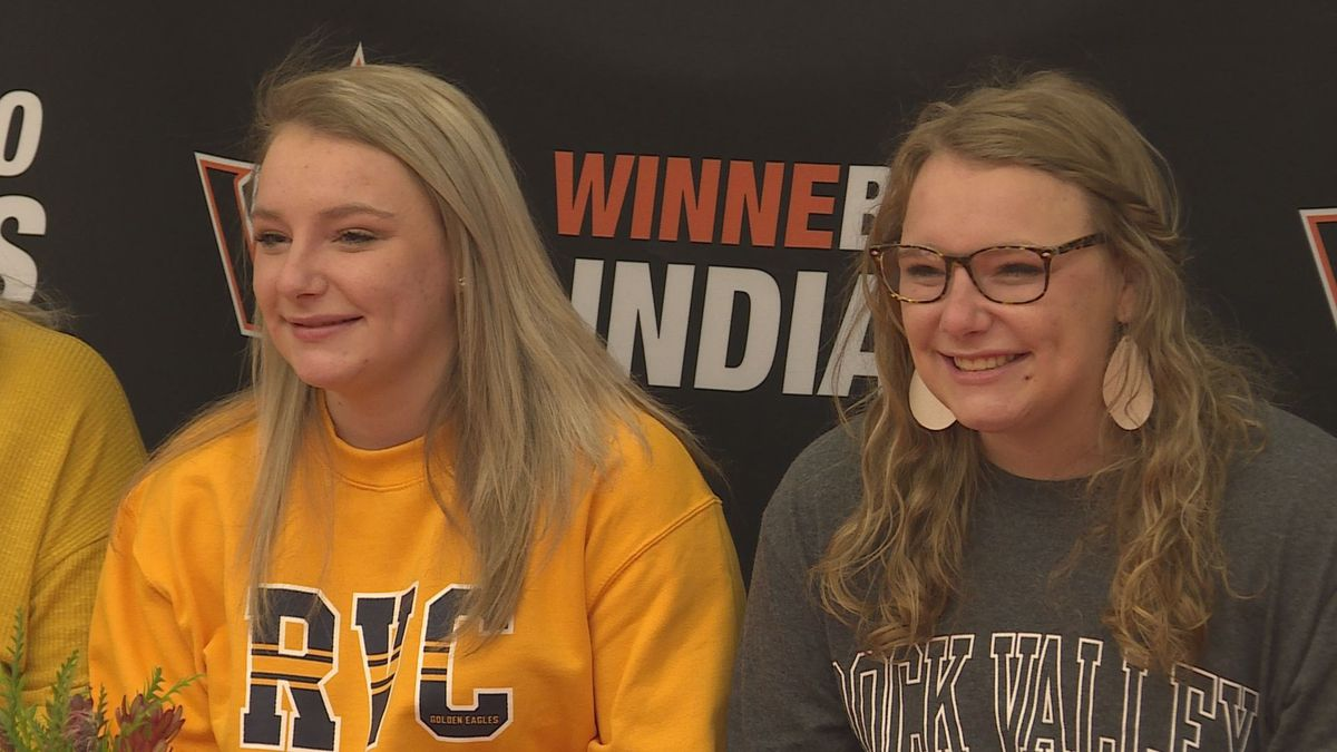 Rock Valley College picked up two more local bowling commits on Monday. Winnebago's Rebbeca and...