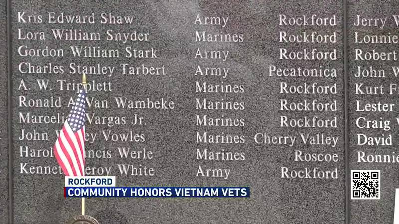 The Vietnam Veteran's Honor Society created the memorial in 2005, marking 50 years since the...