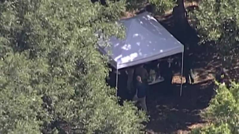Police said that human remains were uncovered Wednesday in an area of the preserve that had...
