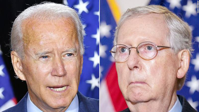 """Senate Republican Leader Mitch McConnell said Wednesday that """"there isn't going to be an..."""